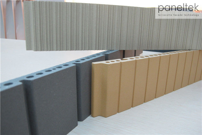 Hollow Structure Building Exterior Wall Materials For Ventilated Facade System